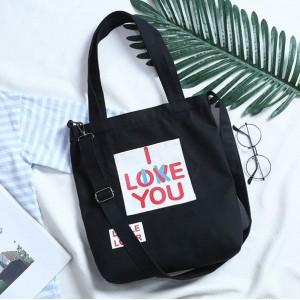 Letné plážové tašky čierne