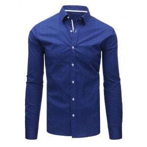 Modrá košeľa slim