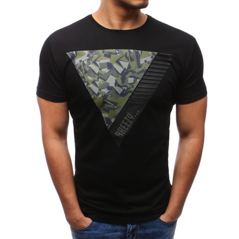 afd9d72ad5 Štýlové tričko pánske s maskáčovou potlačou