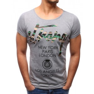 Pánske tričko s veľkým výstrihom