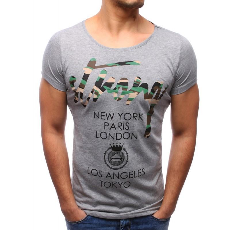 9e640346fdc38 Pánske tričko s veľkým výstrihom