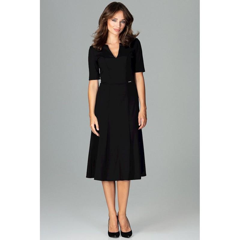 Čierne dlhé šaty voľné b7815427ca2
