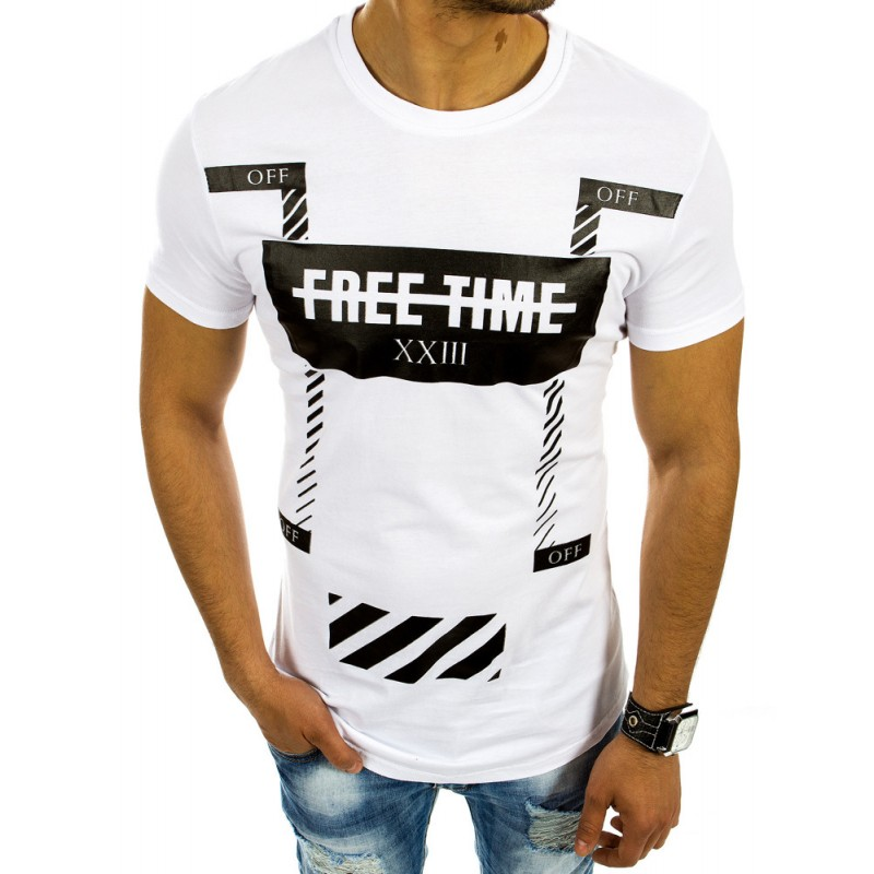 Luxusne trička v bielej farbe d8f71198a9b