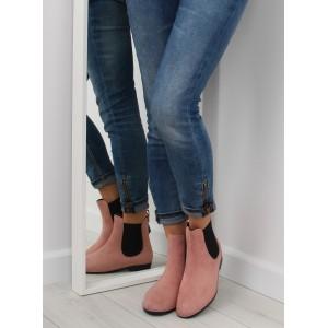 Ružová dámska členková obuv - fashionday.eu df8ab47aa2d