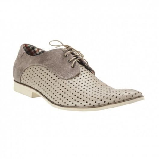 Pánske kožené topánky bežové