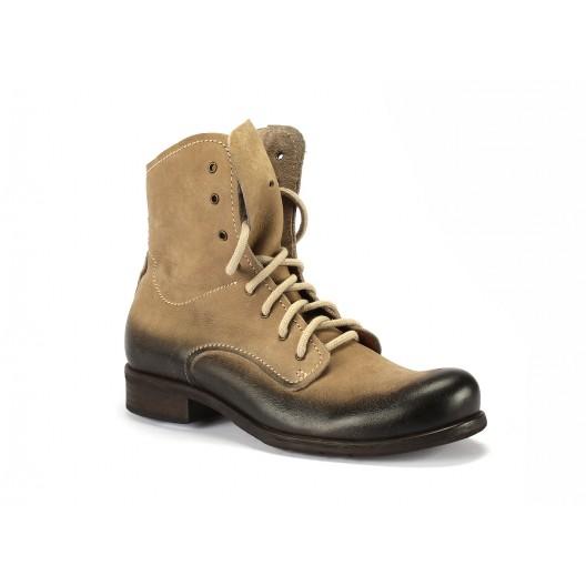 Pánske kožené topánky sivé