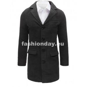 Pánsky kabát tmavo sivej farby