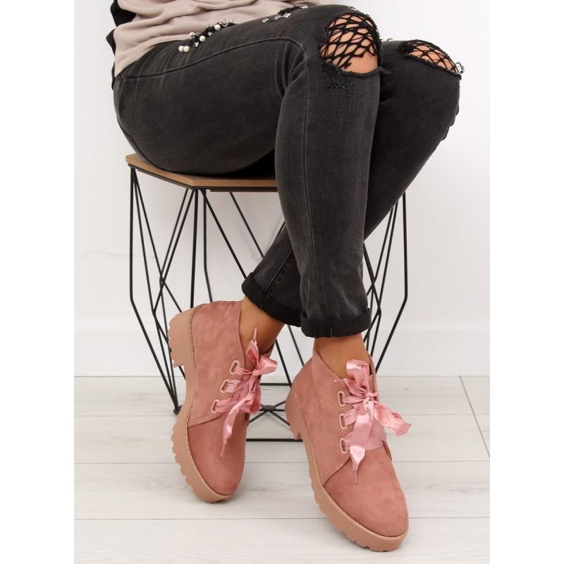 99a8205521 Jesenná obuv dámska ružovej farby