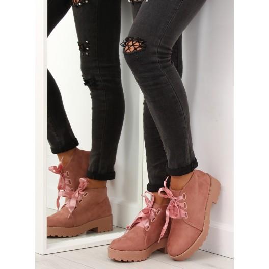Jesenná obuv dámska ružovej farby