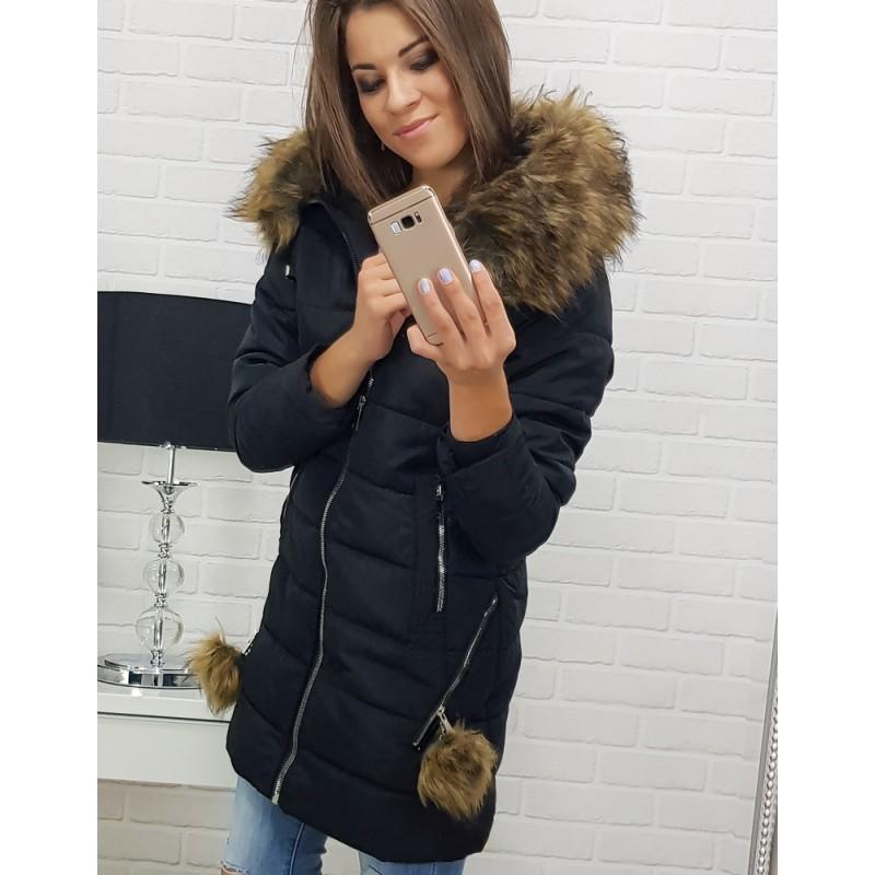8d571ac24774 Dámske zimné bundy s kapucňou