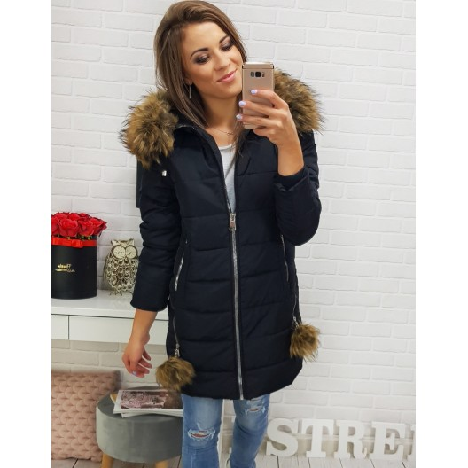 Dámske zimné bundy s kapucňou