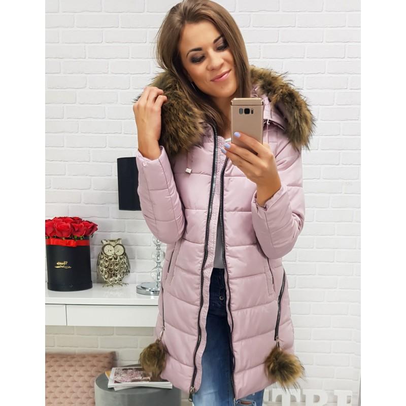 Zimné dámske bundy s kožušinou d69bc5e2a79