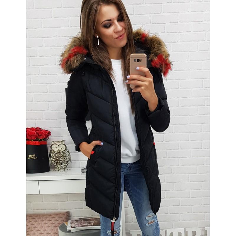 Dámske bundy a kabáty v čiernej farbe d0bd059fae6
