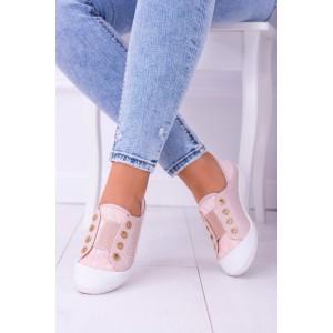 Letné topánky v ružovej farbe