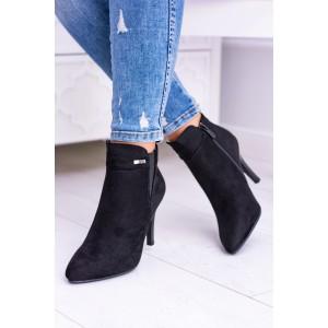 Dámska obuv v čiernej farbe