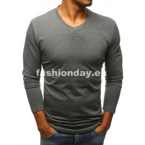 Elegantné tričko v sivej farbe