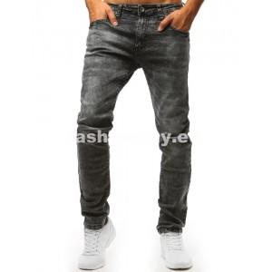 Džínsy v sivej farbe