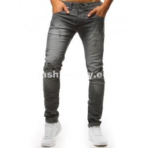 Džíny pánske sivej farby