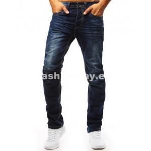 Pánske džíny v modrej farbe