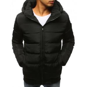 Pánske bundy na zimu v čiernej farbe
