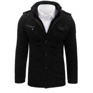 Pánsky kabát s dvojitým zapínaním