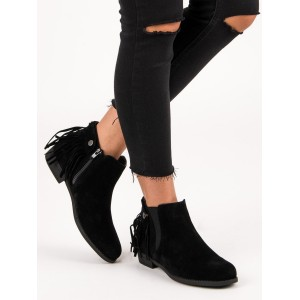 Členkové topánky s odnímateľnými strapcami