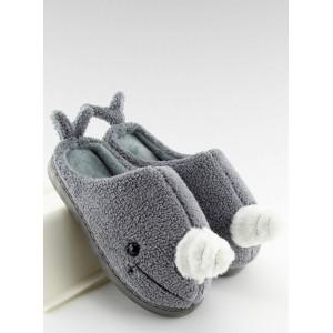 Domáce papuče veľryba sivé