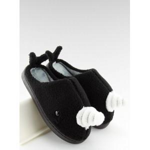 Domáce papuče čierne