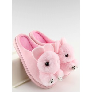 Dámske papuče zajačik ružové