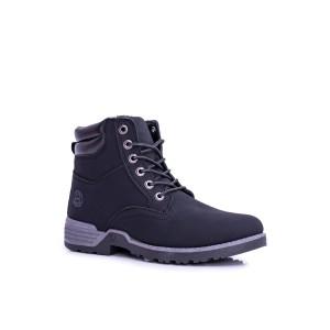 Topánky pánske v čiernej farbe