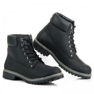 Pánska obuv na zimu čierna