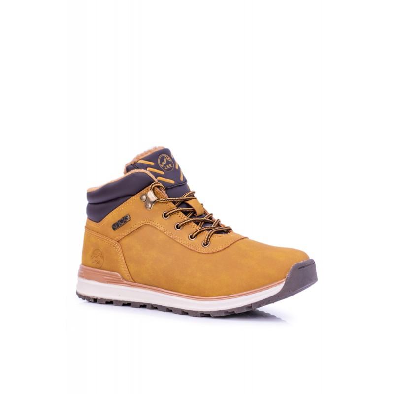 50aa6aa5a7 Pánske zimné topánky béžové