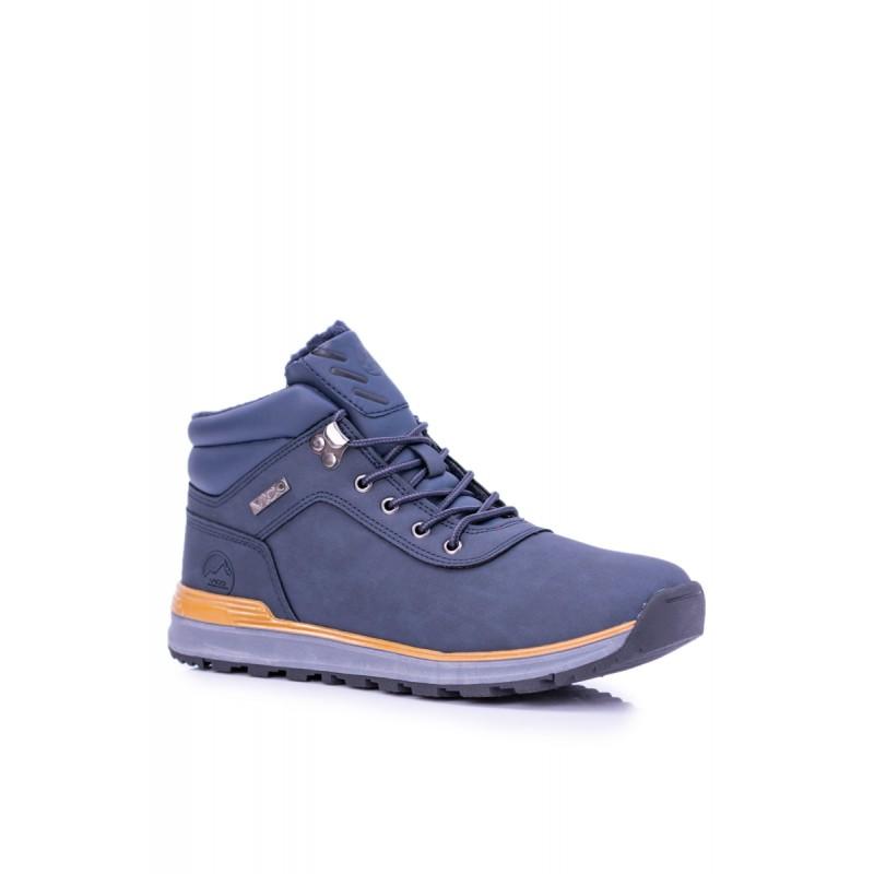 5dc2a79049079 Zimné pánske topánky modré