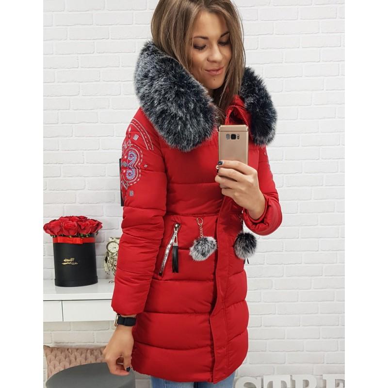 Dievčenská zimná bunda s odnímateľnou kožušinou ee76690e140