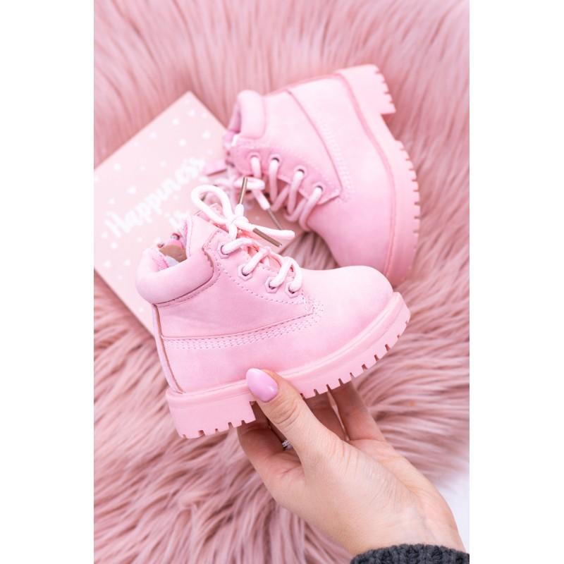 289075357a Prvé topánočky pre deti v ružovej farbe