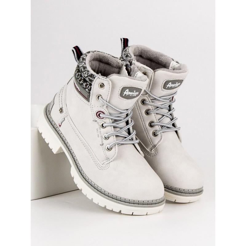Zimné detské topánky so zipsom na bočnej strane 204dd7f695e