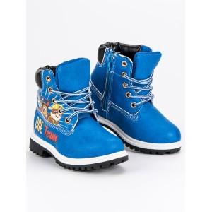 Detské topánky na zimu s motívom rozprávky tlapková patrola