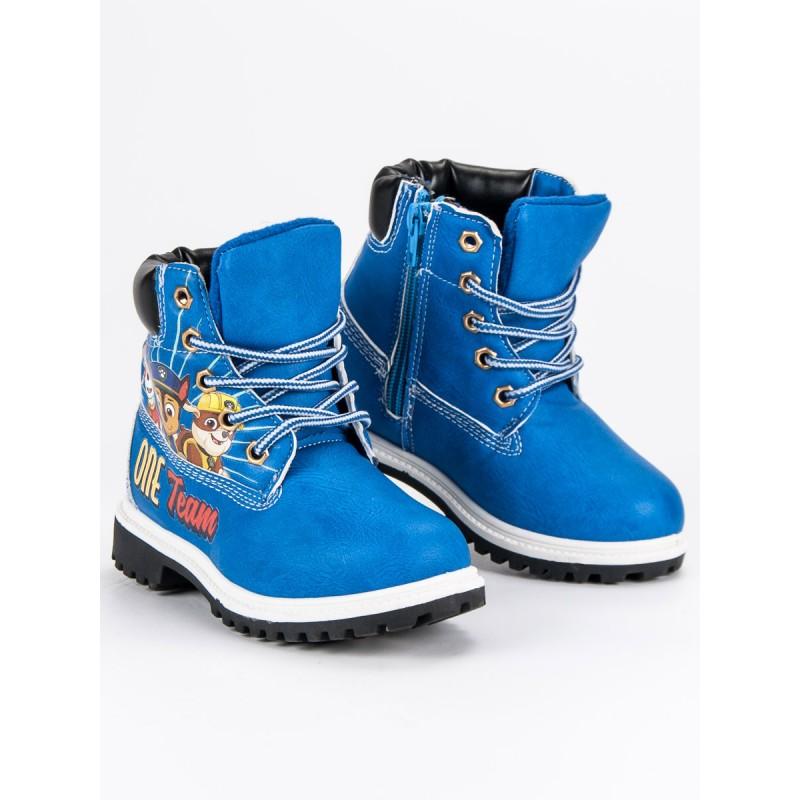 fb0a6ec76 Detské topánky na zimu s motívom rozprávky tlapková patrola