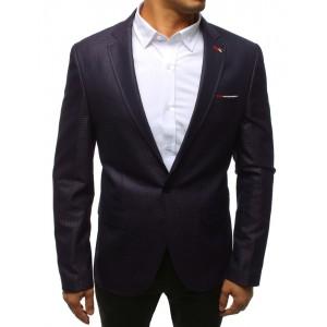 Pánske slim sako vo fialovej farbe so zapínaním na gombík