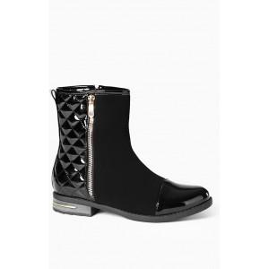 Členkové dámske topánky s nízkym opätkom