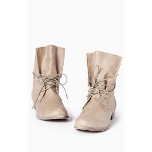 Štýlové dámske šnúrovacie topánky