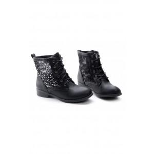 Členkové dámske topánky s diamantmi
