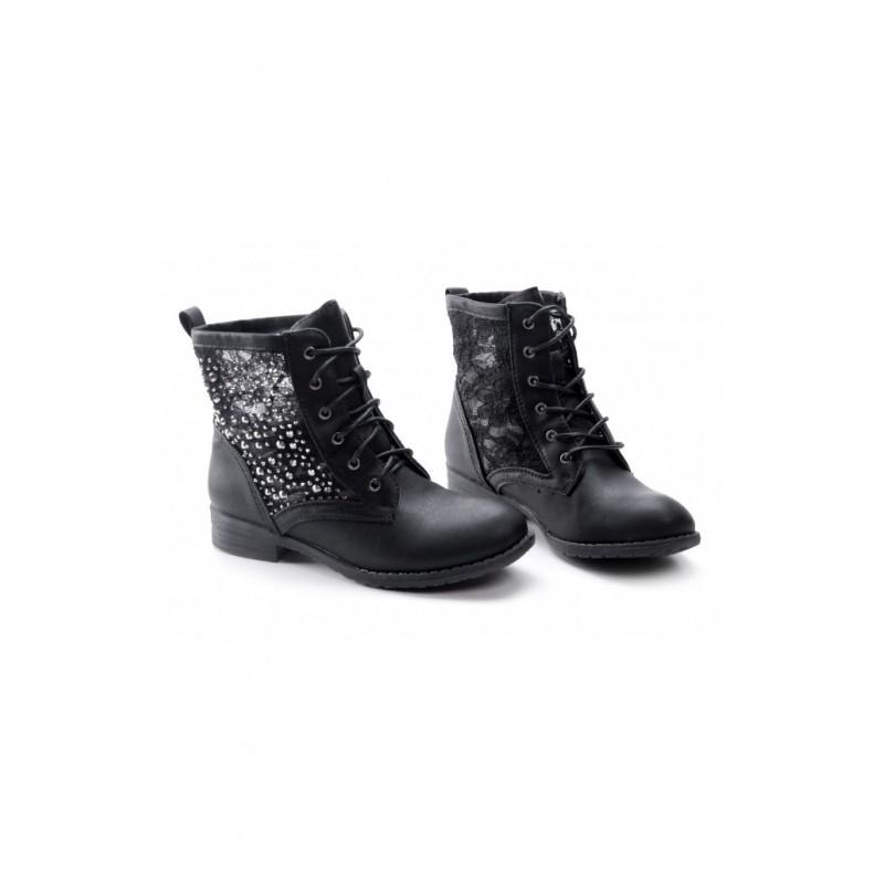 fbbd40111 Členkové dámske topánky s diamantmi - fashionday.eu