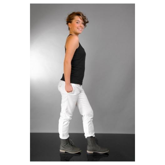 Dámske topánky s nízkym opätkom sivej farby