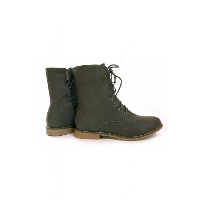 93a86da3254b Dámske topánky s nízkym opätkom sivej farby - fashionday.eu
