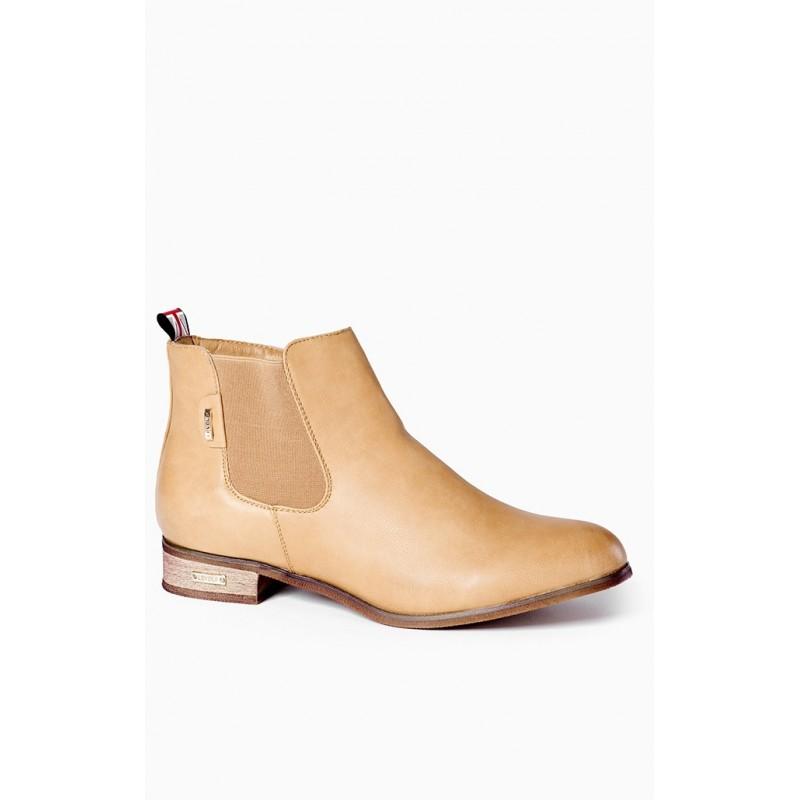 c8ea6ac505 Predchádzajúci. Dámske topánky béžovej farby s nízkym opätkom ...