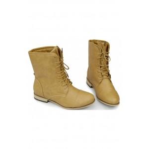 Pohodlné dámske topánky svetlo-hnedej farby