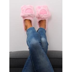 Papuče dámske ružové