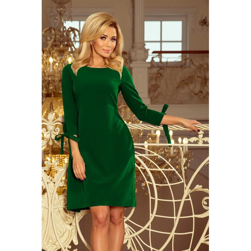 d32793c24211 Krátke spoločenské šaty zelenej farby
