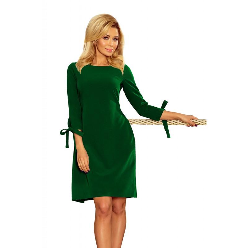 f0814034ff4d Krátke spoločenské šaty zelenej farby